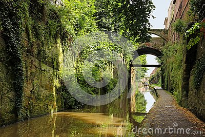 Chester Canal. Chester. England
