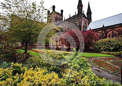 Chesters Cathedral, Cheshire England UK Editorial Photo