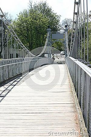 Free Chester Foot Bridge Stock Photo - 287270