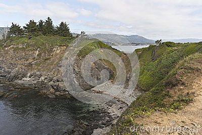 Chetco Point on the Southern Oregon coast