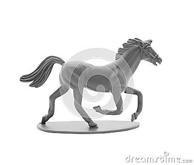 cheval de plastique de jouet photo stock image 41103864. Black Bedroom Furniture Sets. Home Design Ideas