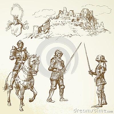 Chevaliers de Moyen Âge