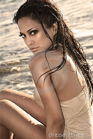 Cheveu humide