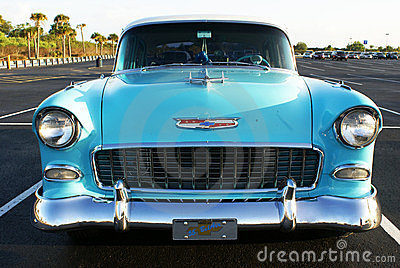 Chevrolet '55 Bel Air Editorial Photography