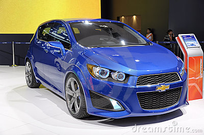 Chevrolet AVEO RS coupe Editorial Stock Image