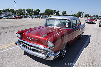 Chevrolet Bel Air 1957 Editorial Photography