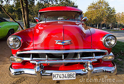 Chevrolet Bel Air Editorial Photography
