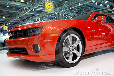 Chevrolet Camaro on MIAS Editorial Stock Photo