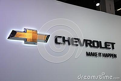 Chevrolet Company Logo Editorial Image
