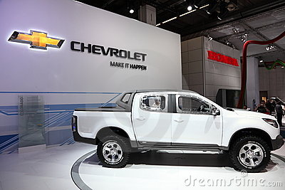 Chevrolet Pickup Truck Colorado Editorial Photo