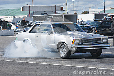 Chevrolet smoke show Editorial Stock Image