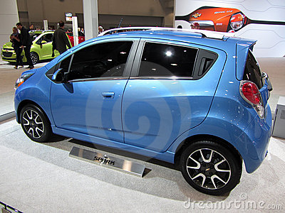 Chevrolet Spark Editorial Stock Image