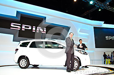 Chevrolet Spin 2013 car Editorial Image