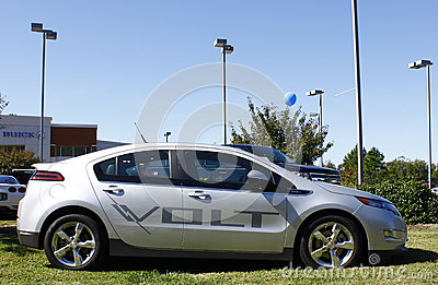 Chevrolet Volt Editorial Stock Photo