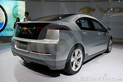 Chevrolet Volt Concept Editorial Stock Image