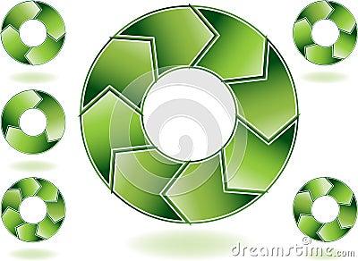 Chevron Green Diagram