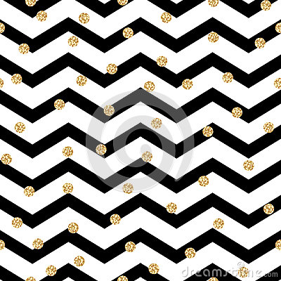 Free Chevron Zigzag Black And White Seamless Pattern Royalty Free Stock Photo - 63467165