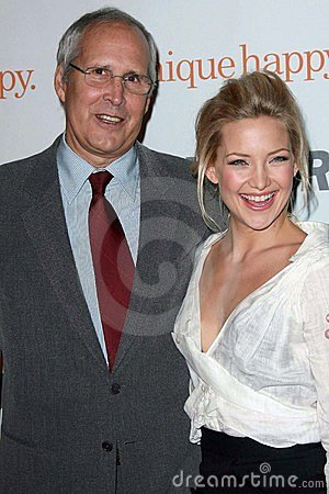 Chevy Chase, Kate Hudson Editorial Photo
