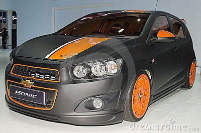 Chevy Sonic Editorial Image