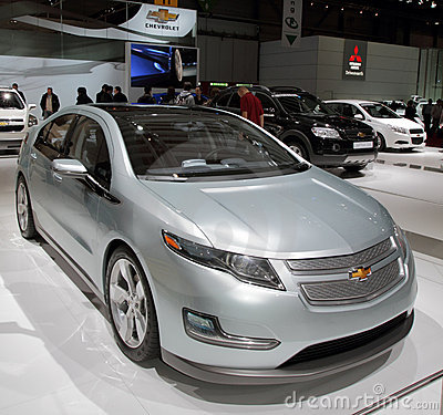 Chevy Volt - 2010 Geneva Motor Show Editorial Photo
