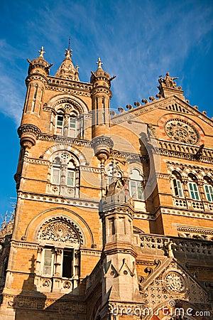 Chhatrapati Shivaji Station in Mumbai