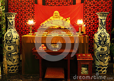 Chińczyka Buddha statua