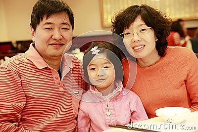Chińska rodzina