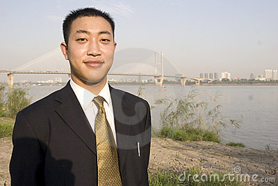 Chiński młody człowiek