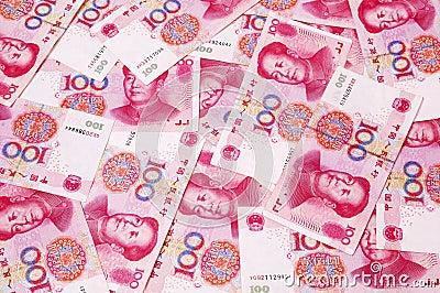 Chiński rmb tło waluty