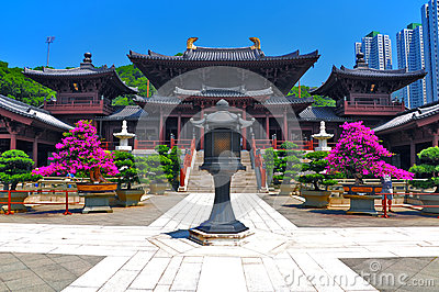 chi lin buddhist nunnery in hong kong
