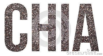 Chia Stock Photo