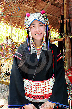 Chiang Mai Hilltribe people Editorial Image