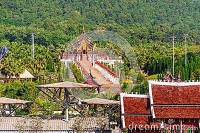 Chiang Mai,Royal pavilion ( (Ho Kum Luang)
