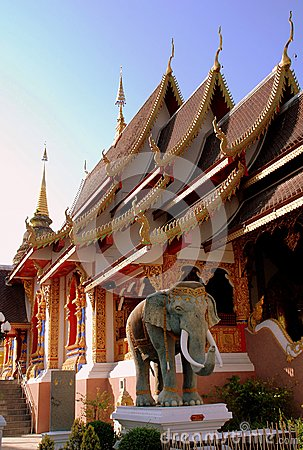 Chiang Mai, Th: Wat Saennuang