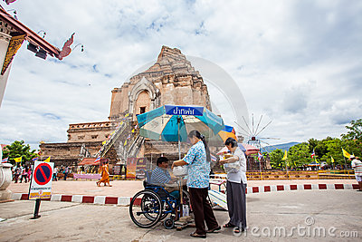 CHIANG MAI THAILAND-JUNE 9   Inthakhin traditional Editorial Stock Image
