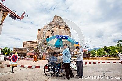 CHIANG MAI THAILAND-JUNE 9   Inthakhin traditional Editorial Stock Image