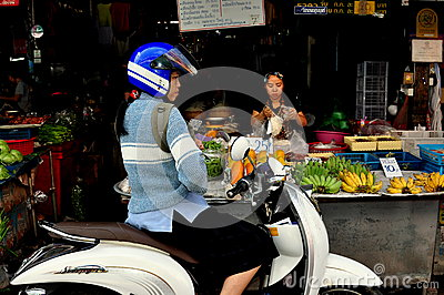 Chiang Mai, Thailand: Somphet Food Market Editorial Photography