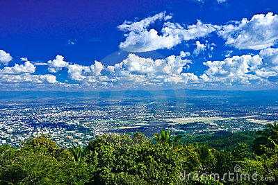 Chiang Mai view from Doi Suthep, Thailand