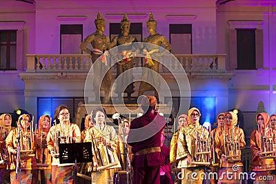 Chiang mai fest international music 3th Editorial Stock Image