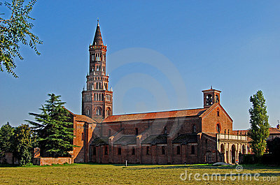 The Chiaravalle Abbey, Italy