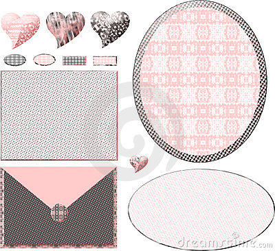 Free Chic Pink Boutique Layout Stock Photos - 4943063