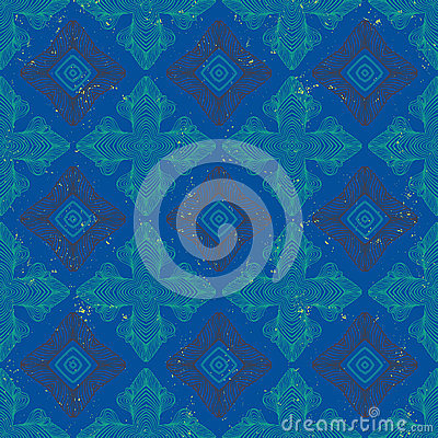Chic royal linear vector pattern with texture