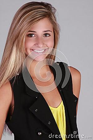Chica chica modelo adolescente