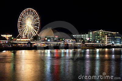 Chicaco Navy Pier Editorial Photo