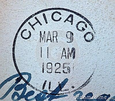 Chicago 1925  American Postmark