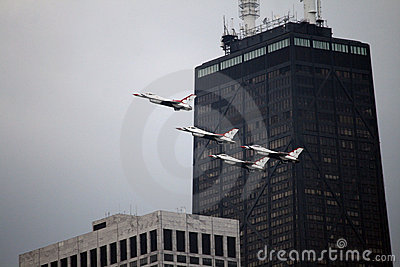 Chicago Air and Water Show Editorial Image