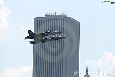He Chicago Air and Water Show Editorial Stock Image