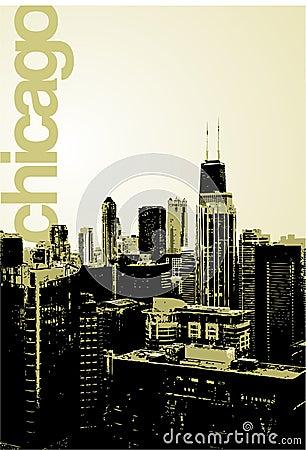 Chicago - alternative skyline