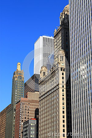 Chicago Architecture Editorial Image