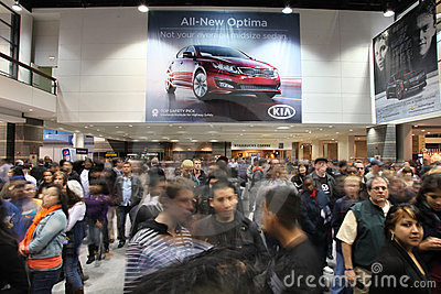 Chicago Auto Show Editorial Stock Photo